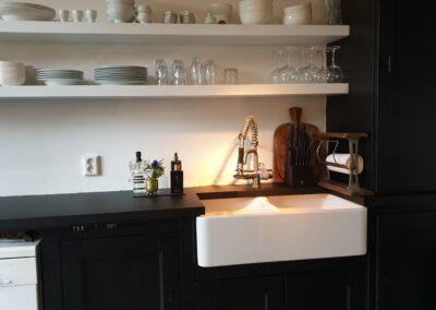 Werkblad keuken gewrapt met interieurfolie